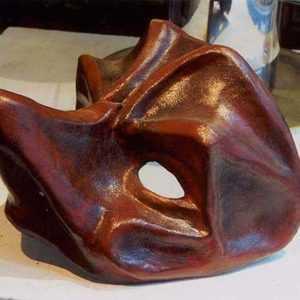 Maschera in cartapesta da Capitano art MXCP005