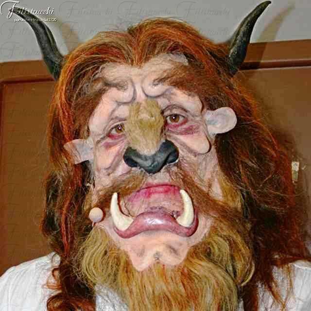 maschera da Bestia della favola