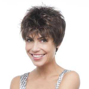 parrucca corta con carattere