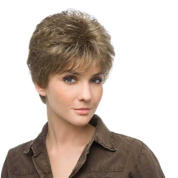 parrucca dal taglio corto