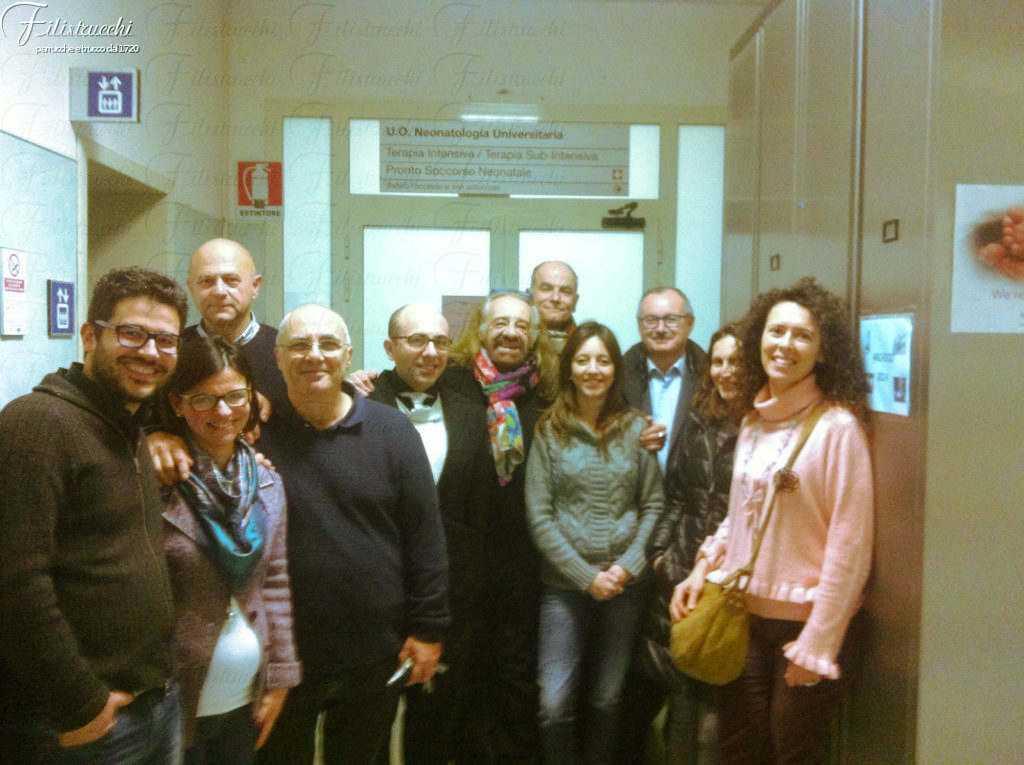 La foto ritrae l'equipe del progetto di ricerca S3-InNeo