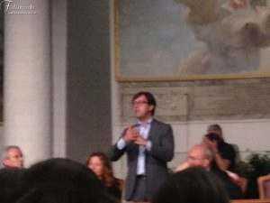 Dario Nardella Durante la conferenza Stampa alla Fndazione Franco Zeffirelli