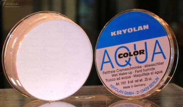 immagine di un Aquacolor Kryolan bianco 070 art. 1101