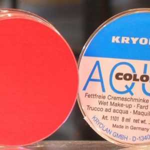 Aquacolor Rosso 079 da 8 ml art 1101