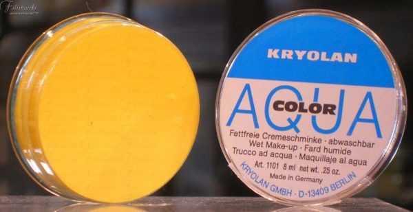 Aquacolor Giallo 509 da 8 ml art 1101