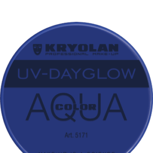 Aquacolor UV Dayglow Blue 8 ml art 5171