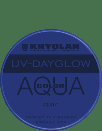 Aquacolor UV articolo 5171 blue da 8 ml di Kryolan