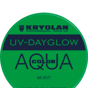 Aquacolor UV Dayglow Green 8 ml art 5171