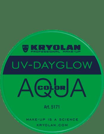 Aquacolor UV articolo 5171 green da 8 ml di Kryolan