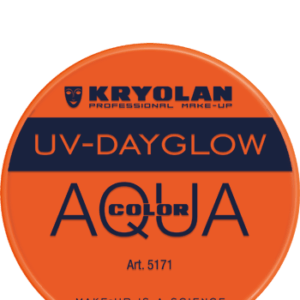Aquacolor UV articolo 5171 orange da 8 ml di Kryolan