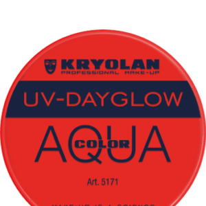 Aquacolor UV Dayglow Red 8 ml art 5171