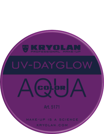 Aquacolor UV Dayglow 5171 violet