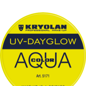 Aquacolor UV Dayglow Yellow 8 ml art 5171