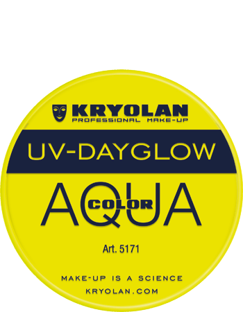 Aquacolor UV Dayglow 5171 yellow