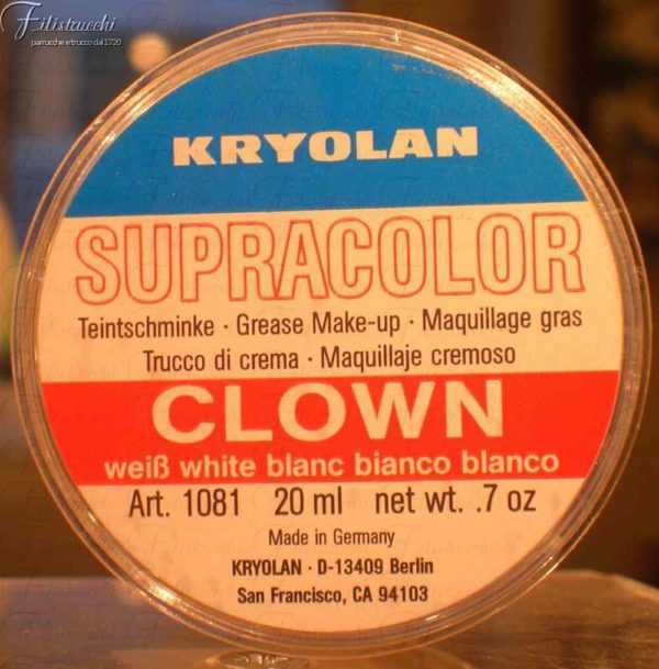 Supracolor Clown White art 1081
