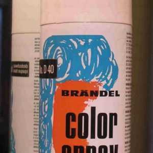 Color Spray nero D40 da 150 ml art 2250