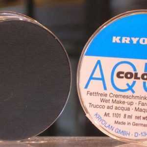 immagine di Aquacolor Kryolan nero 071 art. 1101