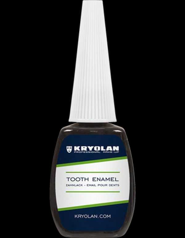 Smalto da denti color nero Kryolan art 1220