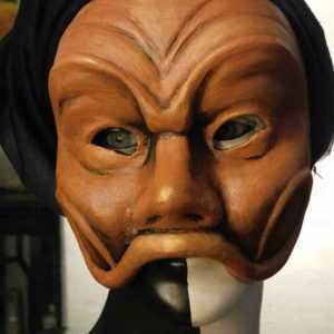 Maschera da Arlecchino realizzata da Filistrucchi art. MXCP001