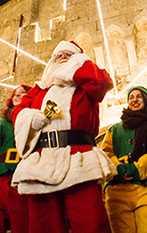 Torna Natale a Montepulciano, con un nostro Babbo Natale