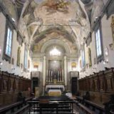 Oratorio San Niccolò da Bari detta il Ceppo, la chiesa confinante con la nostra bottega.