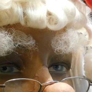 Sopracciglia in pelo naturale di yak da Babbo Natale realizzate a mano nella nostra bottegaart SP0025
