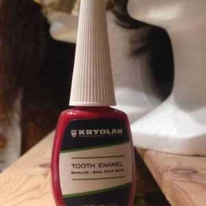 Tooth Enamel - Smalto Denti Rosso da 12 ml art 1220