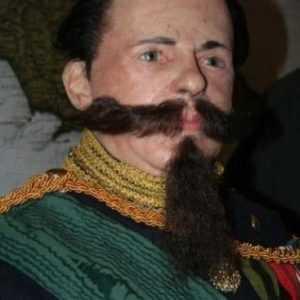Vittorio Emanuele II baffi e pizzo