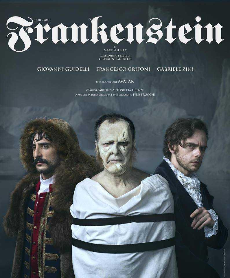 Locandina per lo spettacolo Frankenstein