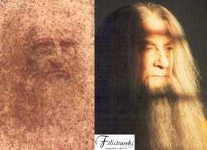 Leonardo da Vinci l'autoritratto e un trucco Filistrucchi
