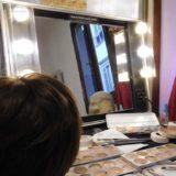 Camerini make-up nel centro di Firenze a disposizione delle troupe cine televisive o per scatti fotografici esterni