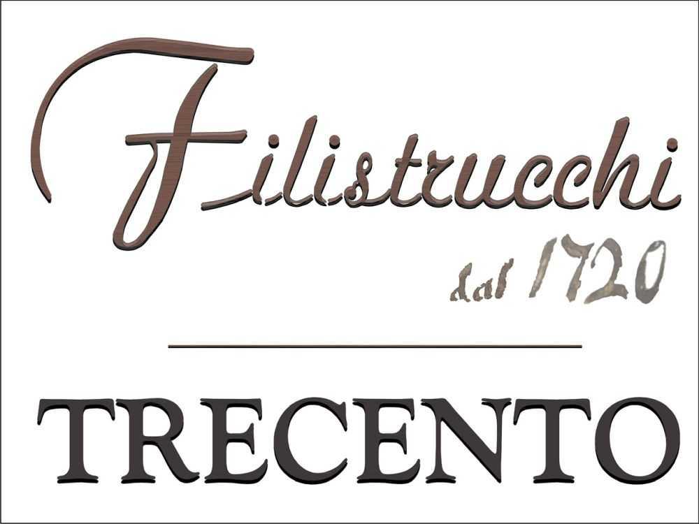 Il logo celebrativo dei 300 anni di Filistrucchi
