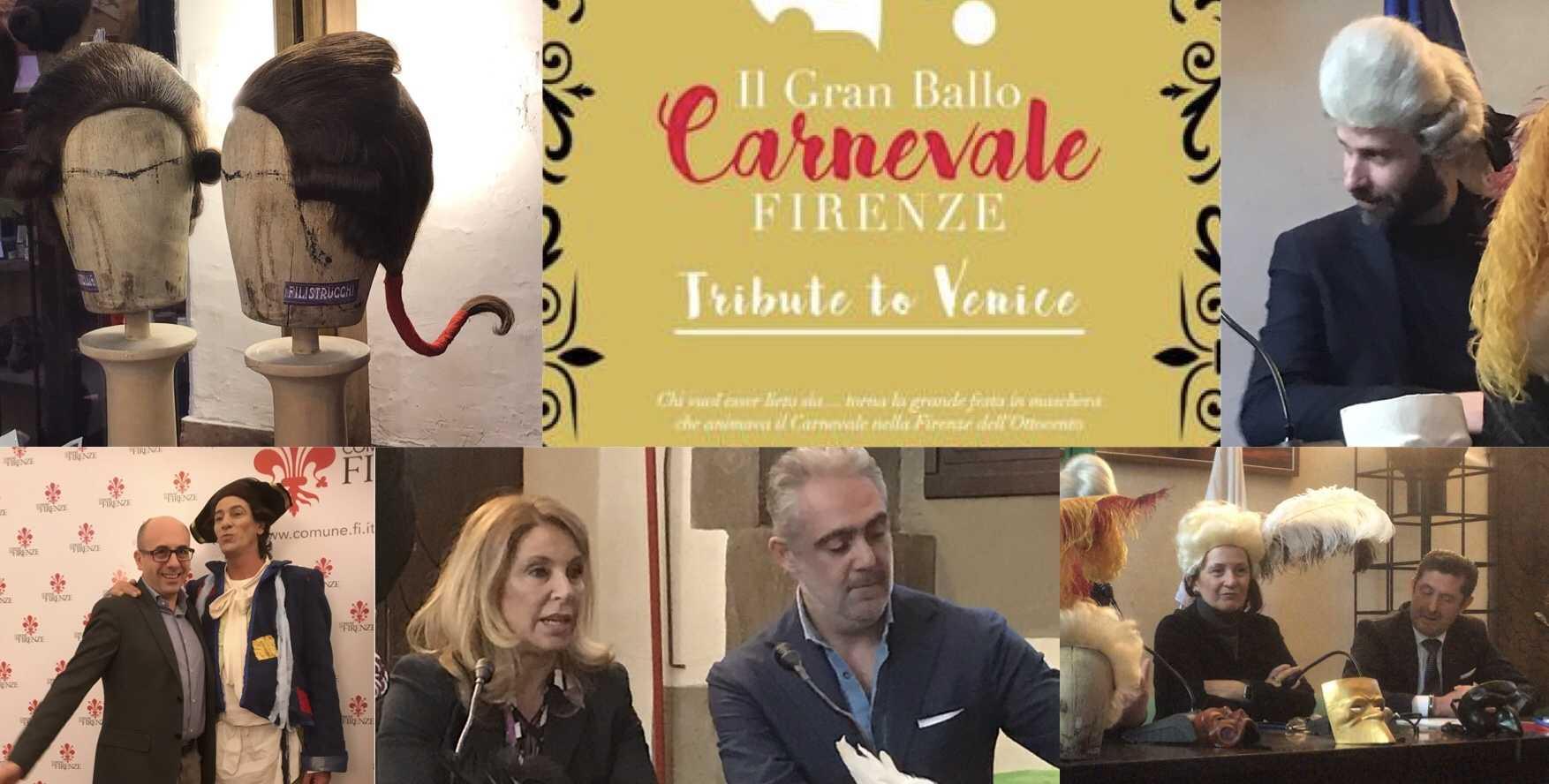 """La conferenza Stampa """"Carnevale di Firenze"""",  Filistrucchi partner tecnico"""