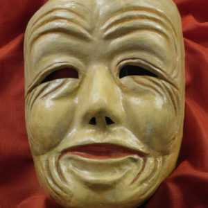 Maschera in Cartapesta da Goro per l'opera Madama Butterfly
